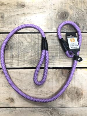 Nylon Slip Lead Lilac