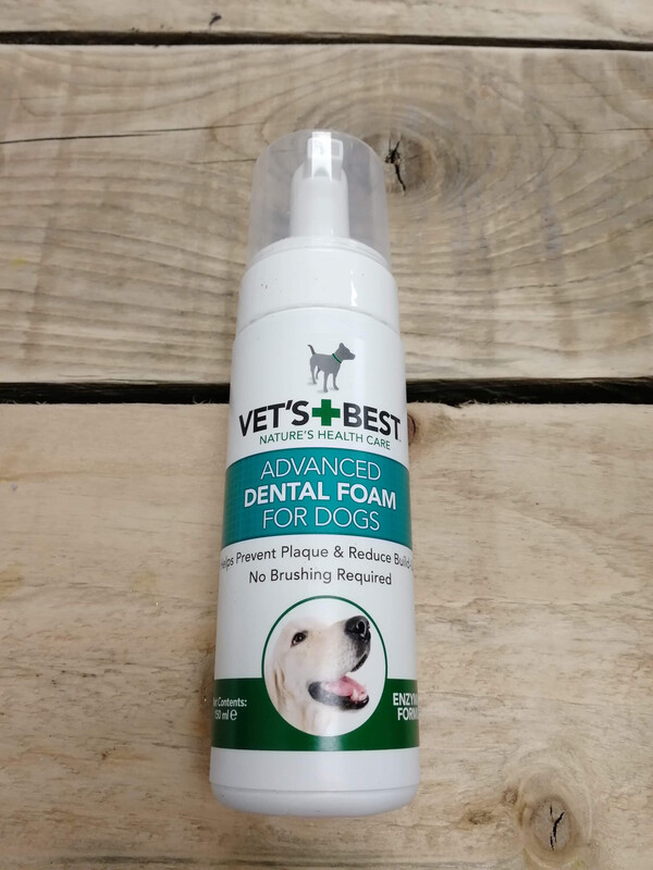 Vet's Best Dental Foam Dog