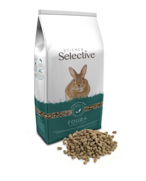 Science Selective Rabbit Mature 4+ 3kg RRP £10.99