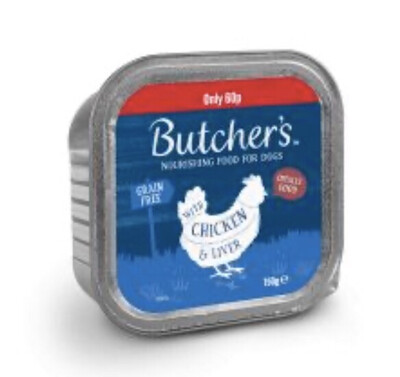 Butchers Choice Chicken And Liver 150g