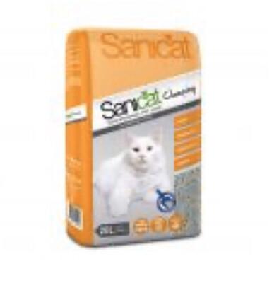 Cat Litter Kitty Friend Sanicat Clumping 20l