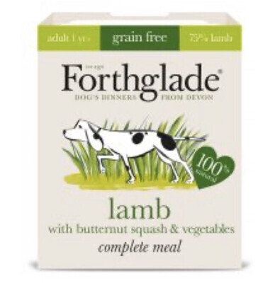 Forthglade Complete Lamb, Butternut Squash & Veg 395g
