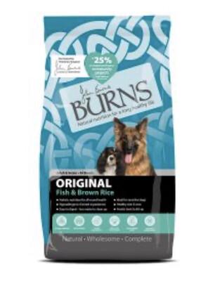 Burns Original Fish And Brown Rice 2kg RRP £10.99