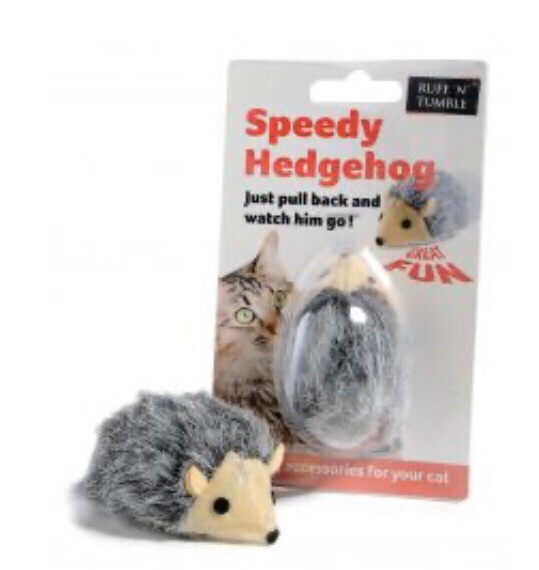 Cat Toy Speedy Hedgehog