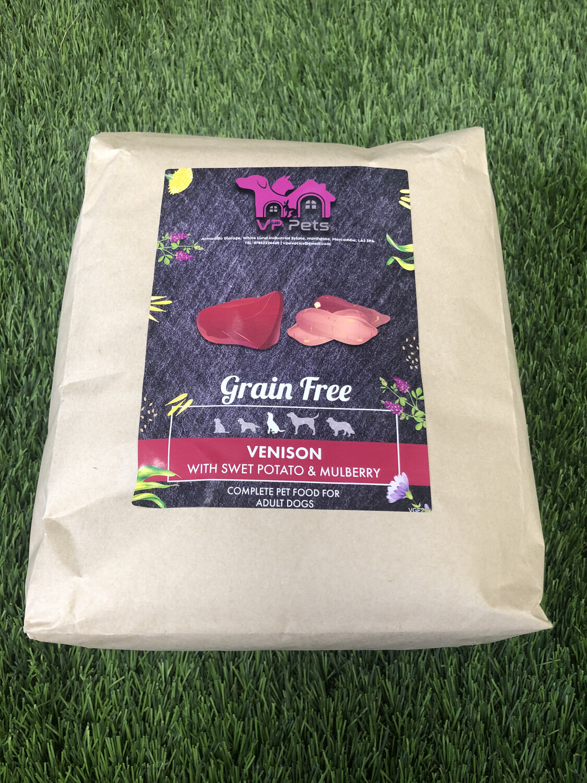 VP Grain Free Adult Dog Food - Venison, Sweet Potato & Mulberry 6kg