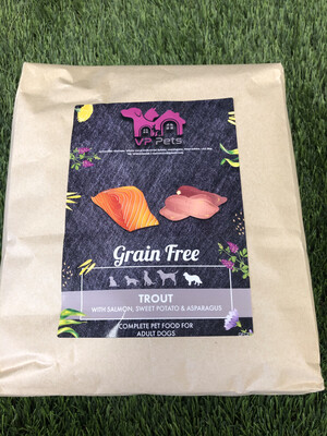 VP Grain Free Senior Dog Food - Trout with Salmon, Sweet Potato & Asparagus 2kg