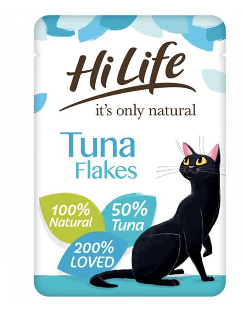 Cat Hi Life Adult Tuna Pouch 32 Pack