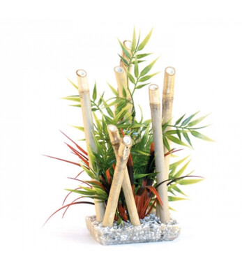 Reptile Vivarium Decor Bamboo Plant Large