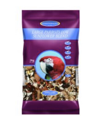 Johnson & Jeff Low Sunflower Seed Premium Parrot Mix 2kg