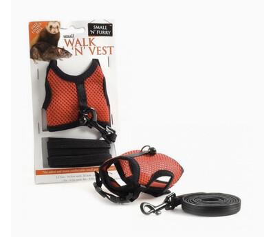 SA Small Animal Harness And Lead Set Rat And Ferret