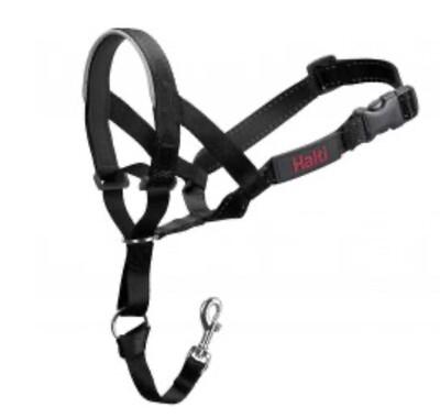 Training Halti Head Collar Black Size 4