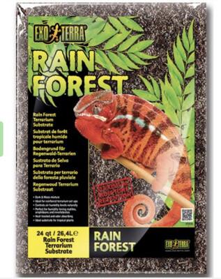 Reptile Exo Terra Rain Forest Substrate M 4.4l