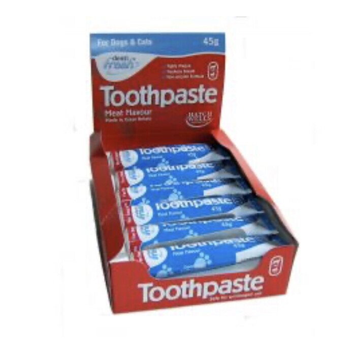 Dentifresh Liver Toothpaste Dogs 45g