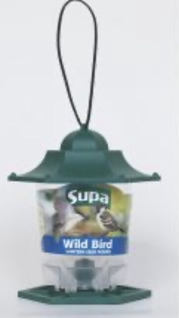 Garden Bird Supa Lantern Seed Feeder Single