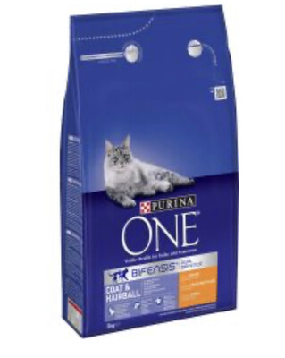 Cat Purina ONE Hairball 3kg RRP £16.99