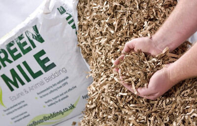 SA GreenMile Cardboard Strip Bedding Woodshavings Alternative 5kg (£1 Per Kg)