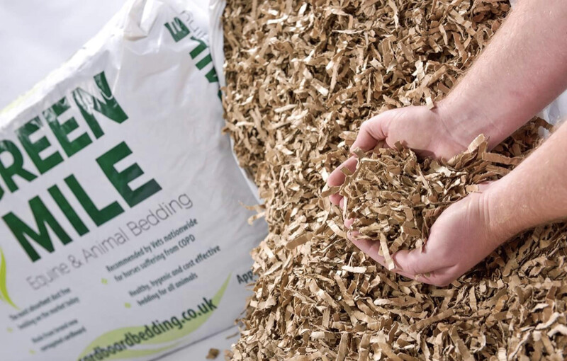 SA GreenMile Cardboard Strip Bedding Woodshavings Alternative 5kg (£1 Per Kg)