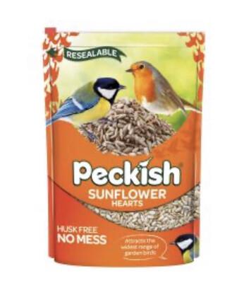Garden Bird Peckish Sunflower Hearts 1kg