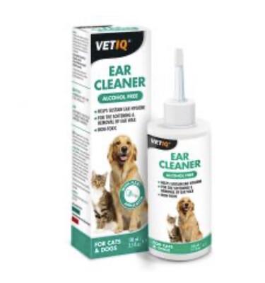 Pharmacy Vetiq Ear Cleaner Dog Cat 100ml