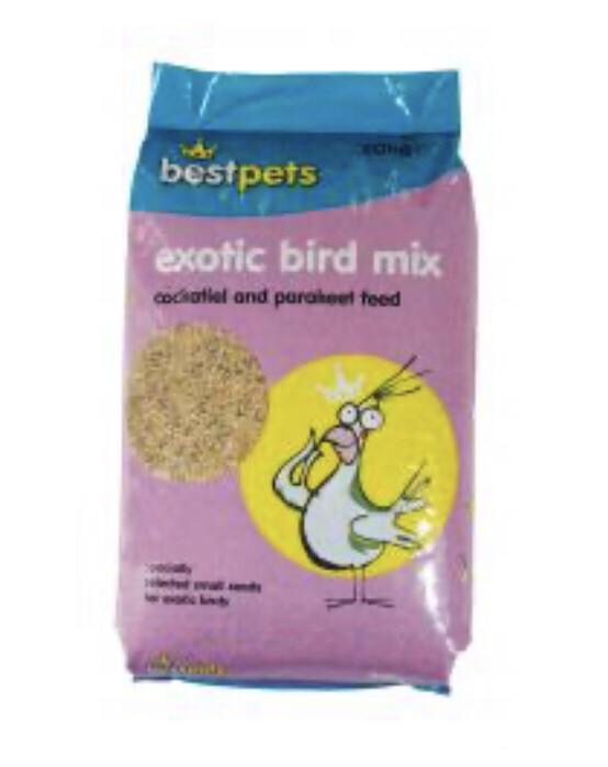 Bird Best Pets Cockateil And Parakeet 20 Kg