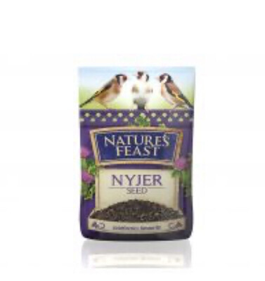 Natures Feast Nyjer Seed Garden Bird Food 1kg
