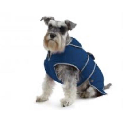 Ancol Muddy Paws Stormguard Waterproof Dog Coat Medium Blue 40cm