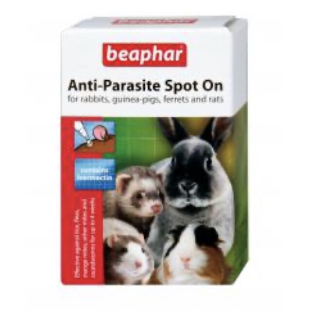 Pharmacy Baephar Small Animal Parasite Treatment Fleas And Mites
