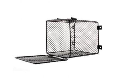 Reptile Habistat Heat Lamp Cage Bulb Guard Vivarium Rectangle 12cm x 16cm