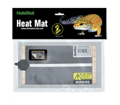 Reptile Habistat High Power Mat, Adhesive 15cm X 28cm 15 Watt