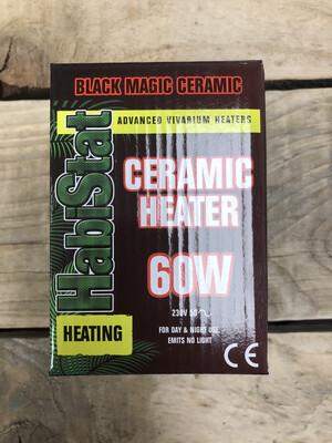 Reptile Habistat Black Magic Ceramic Heater 60 Watts