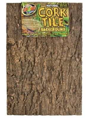 """Reptile Zoo Med Cork Tile Background Large 12"""" x 18"""""""
