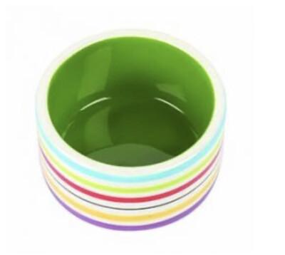 SA Small Animal Rainbow Bowls Small