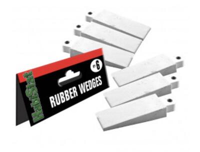Reptile Vivarium Rubber Wedges 6 Pack