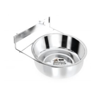 Coop Cup Crate Bowl. Stainless Steel. 21cm