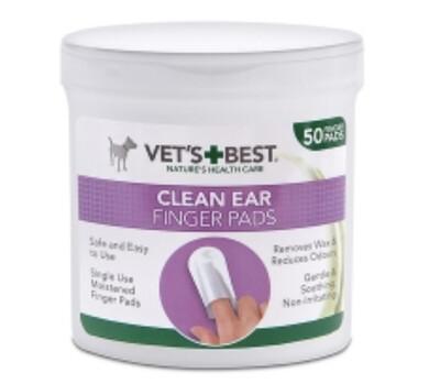 Rosewood Vet Clean Ear Finger Pads (50)