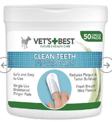 Rosewood Vet Clean Teeth Finger Pads (50)