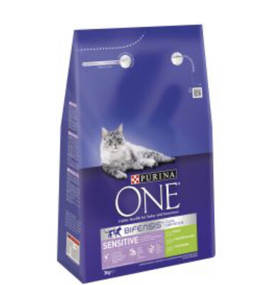 Cat Purina ONE Sensitive 3kg