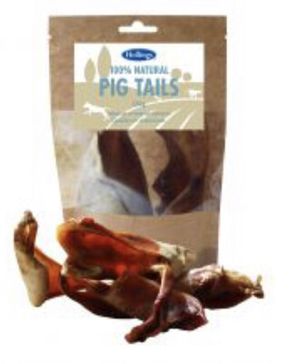 100% Natural Hollings Pig Tails 120g