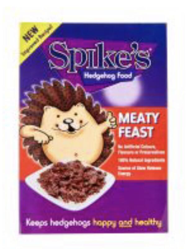 Spikes Meaty Feast Wet Hedgehog Food 140g Tray