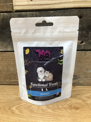 VP Cat And Dog Calming Treat. Duck, Chicken, Chamomile And Lavender. Reward And Training Treats