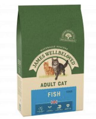 James Wellbeloved Cat Fish 10kg