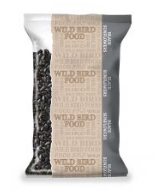 Bird Black Sunflower Seeds 500g
