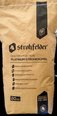 Reptile Small Animal Strohfelder Litter/Bedding 20kg Full Sack