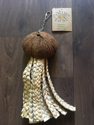 Coconut Nature First Parrot Octopus Toy