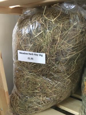 ⚫️ VP Meadow Mix Hay Medium 1kg