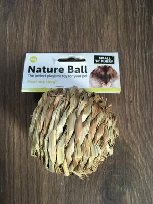 SA Small n Furry Natural Ball