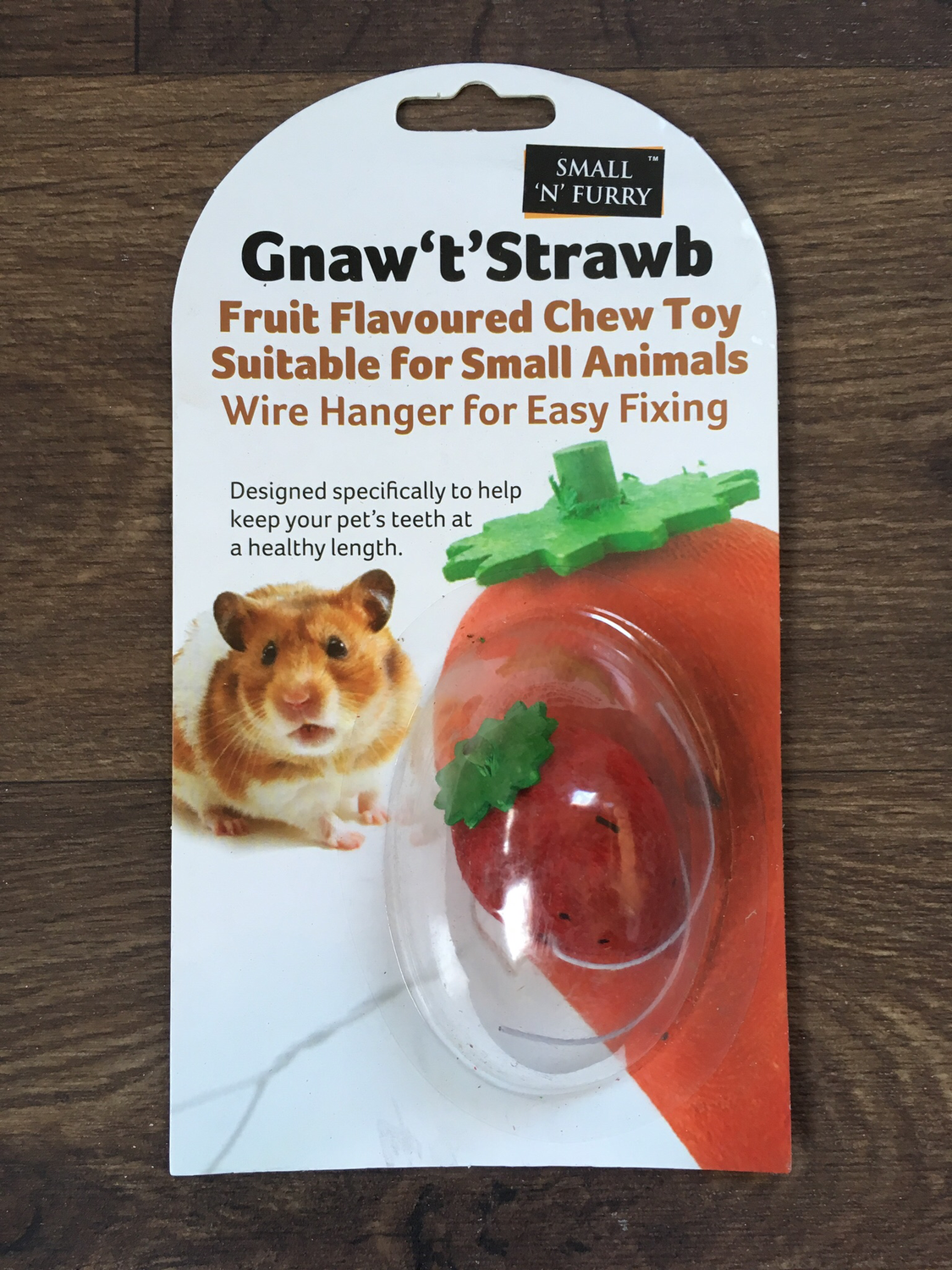 SA Small n Furry Gnaw Strawberry