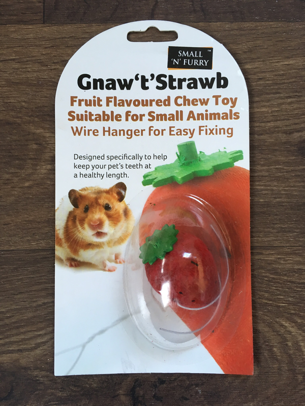 SA Small n Furry Gnaw Strawberry