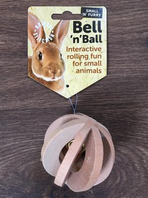 SA Small n Furry Bell and Ball