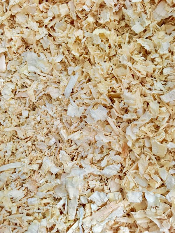 Natural Flake Woodshavings 3kg Large